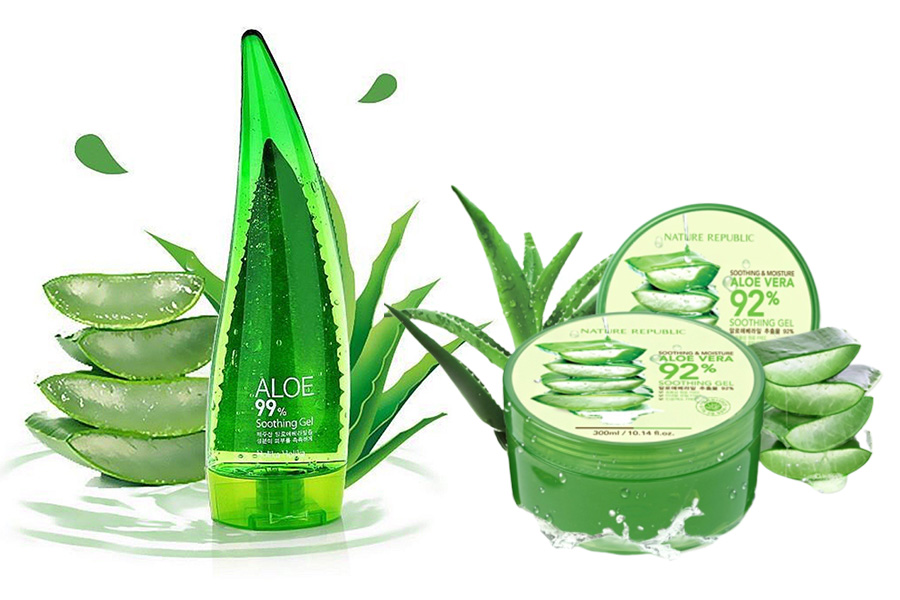 Holika Holika Aloe Vera vs Nature Republic