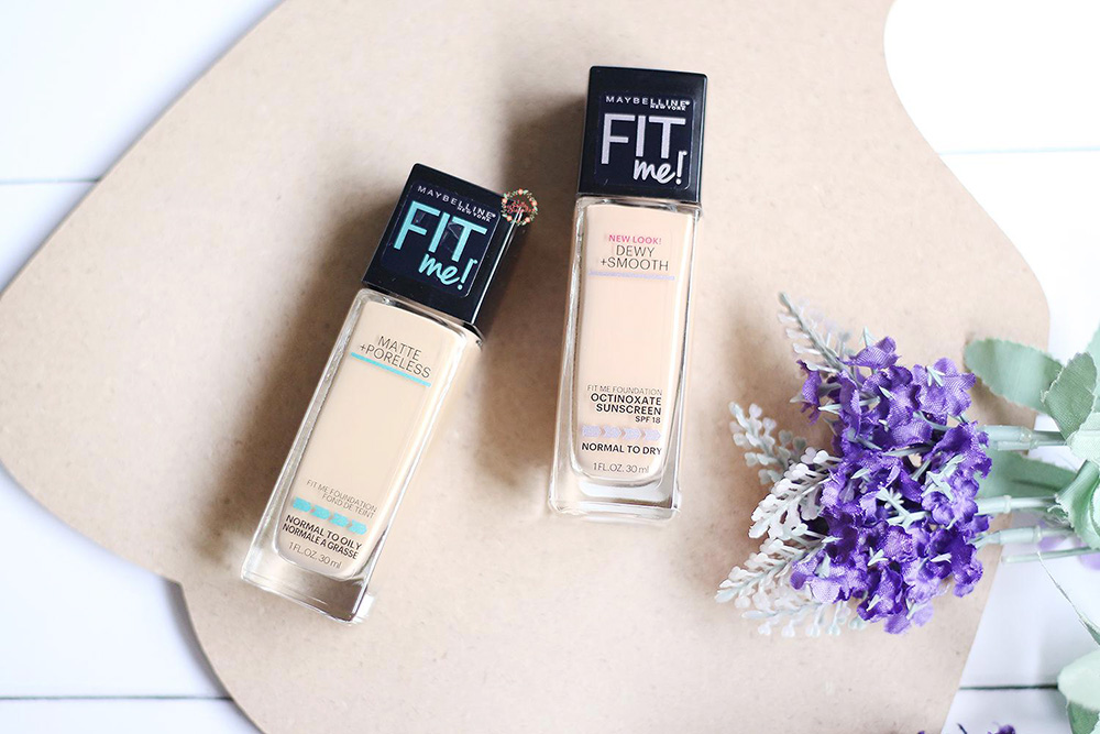 Maybelline Fit Me 128 vs Maybelline Fit Me 220
