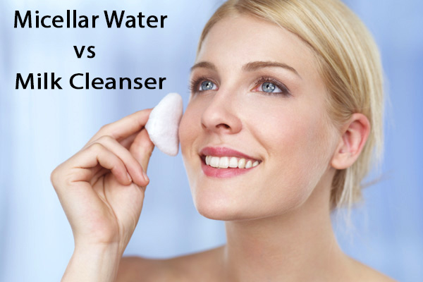 Micellar Water atau Milk Cleanser