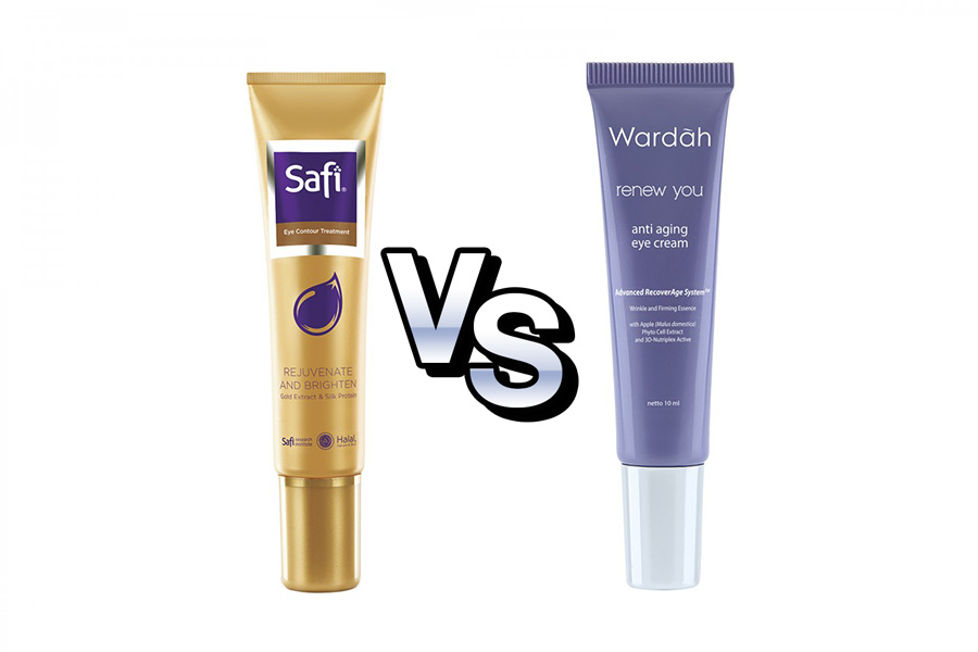 Eye Cream Safi vs Wardah