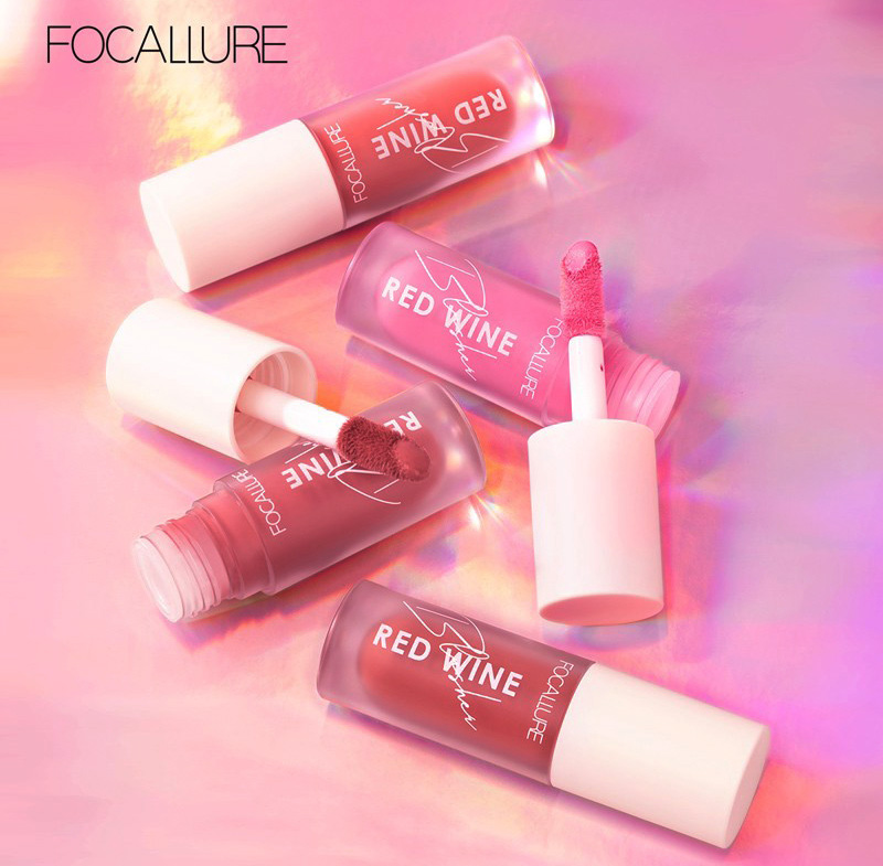 Liquid Blush Emina vs Focallure
