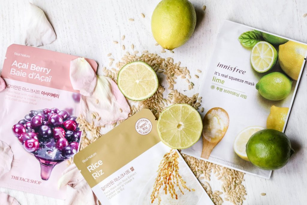 Bagus mana Sheet Mask Innisfree vs the face shop
