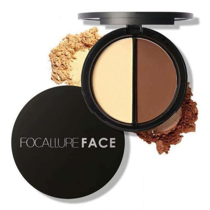 Focallure Buzz-Worthy Bronzer and Highlighter Pallete