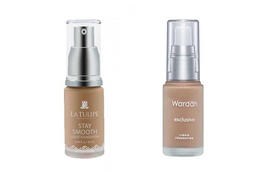 Foundation La Tulipe vs Wardah
