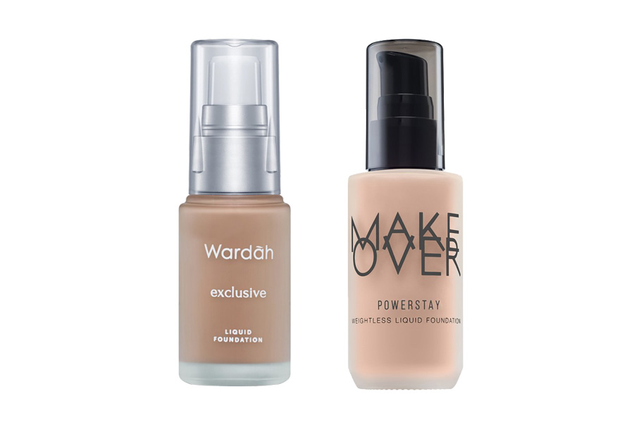 Bagus mana Liquid Foundation Wardah vs Make Over