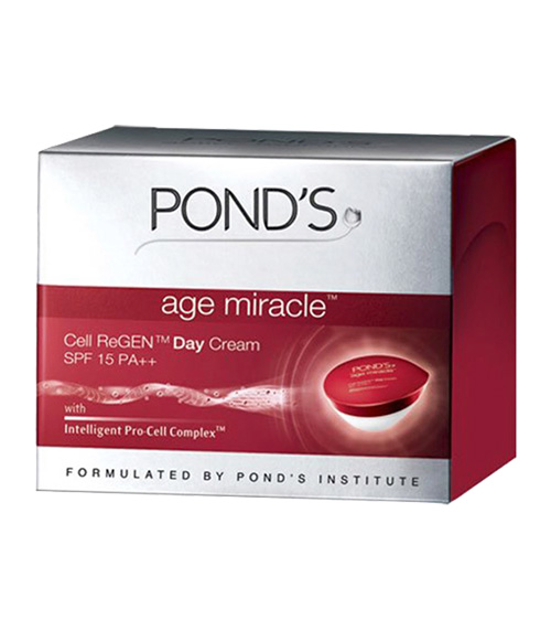 Ponds Age Miracle vs Ponds Gold Radiance Day Cream