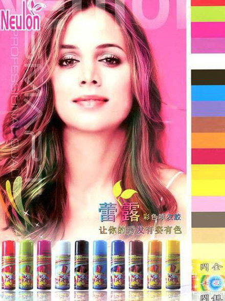 Merk Hair Color Spray Terbaik