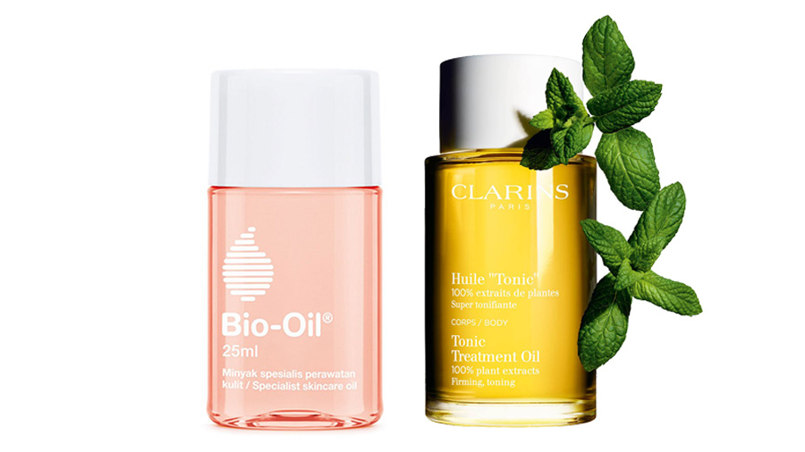 Bio Oil vs Clarins Tonic Body Treatment Oil