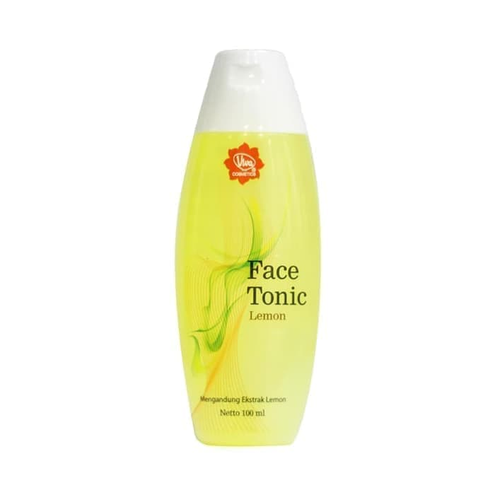 Viva Face Tonic Green Tea vs Lemon
