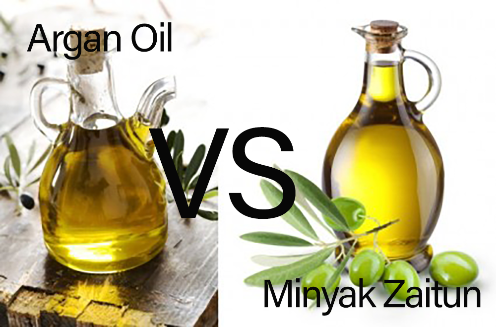 Argan Oil vs Minyak Zaitun