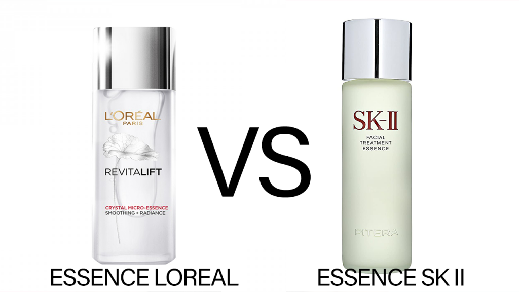 Essence Loreal vs Essence Sk II