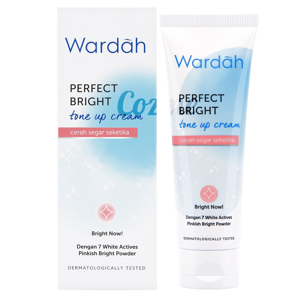 Bagus mana Perfect Bright Tone Up Cream Wardah vs Garnier Light Complete Bright Up Tone Up Cream?