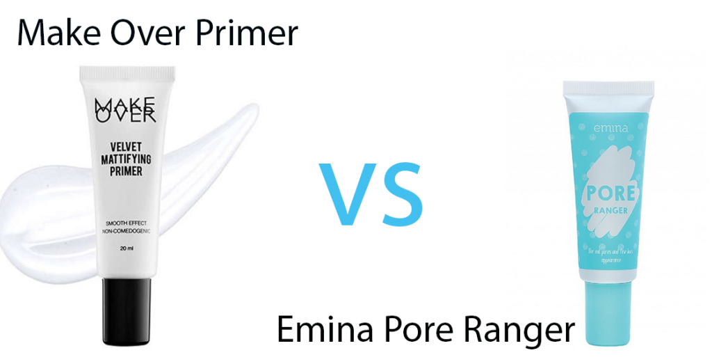 Make Over Primer vs Emina Pore Ranger Primer